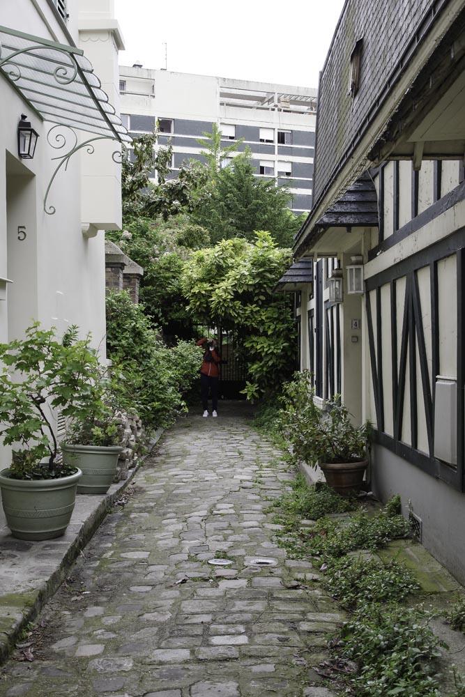 Villa Halle : un petit air de normandie à Paris