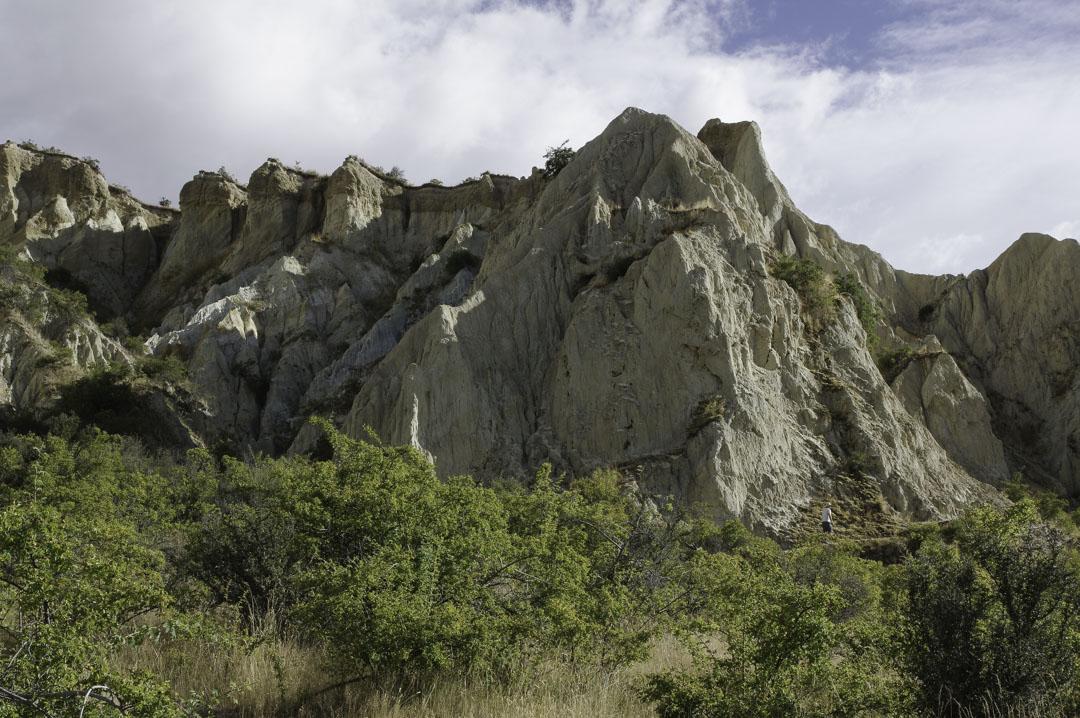 Falaise d'Argile près d'Omarama