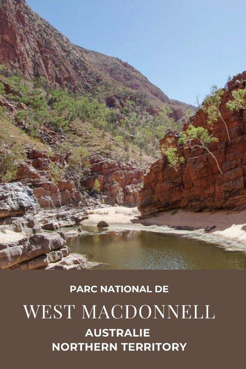 Que voir dans le Parc National de West MacDonnell en Australie