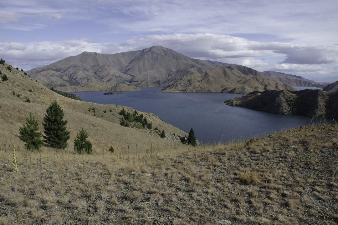 Randonnée à Benmore Lake