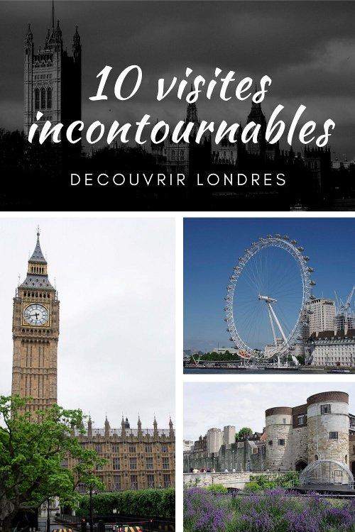 10 top des visites incontournables pour découvrir Londres lors d'un premier Week end