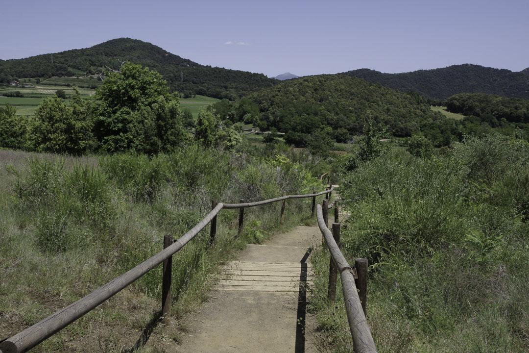 Randonnée dans le parc naturel de la Garrotxa