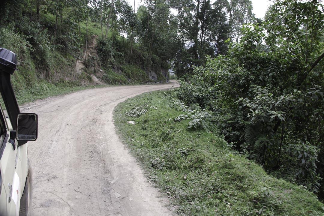 Route pour aller à Bwindi