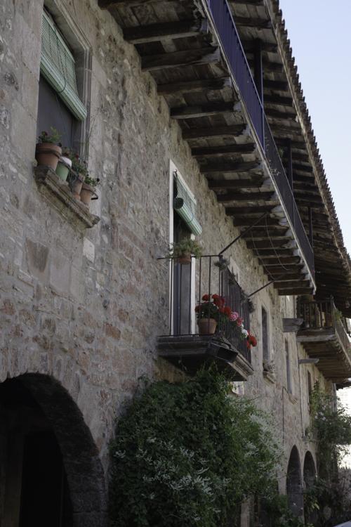 Vieux Santa Pau en Catalogne
