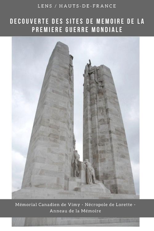 Visiter les sites de mémoire de la Première Guerre Mondiale autour de Lens