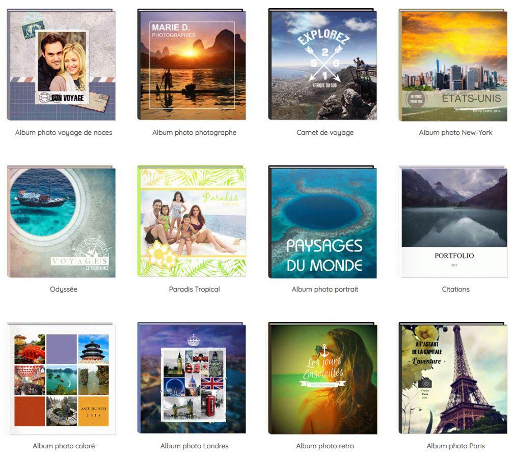 Choisir format Album Photo Flexilivre