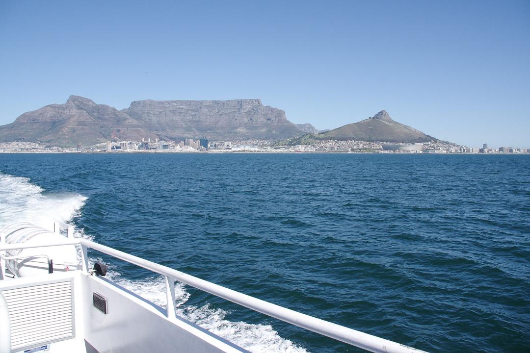 Excursion en bateau de Cape Town à Robben Island