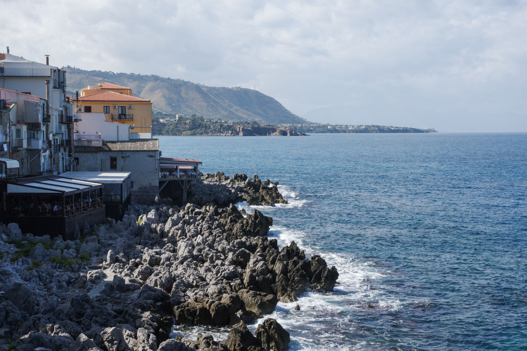 Balade dans Cefalù en Sicile