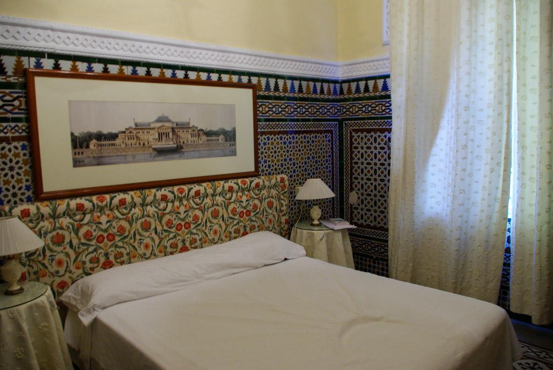 Chambre de l'hôtel Simon à Séville