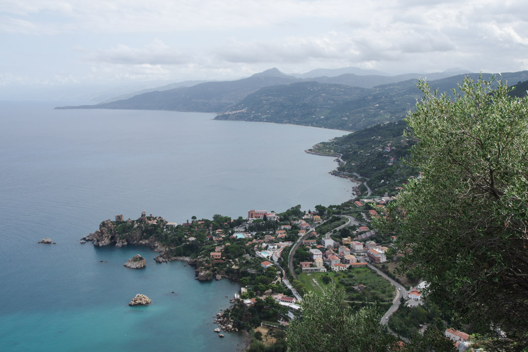 panorama depuis le Rocca di Cefalu