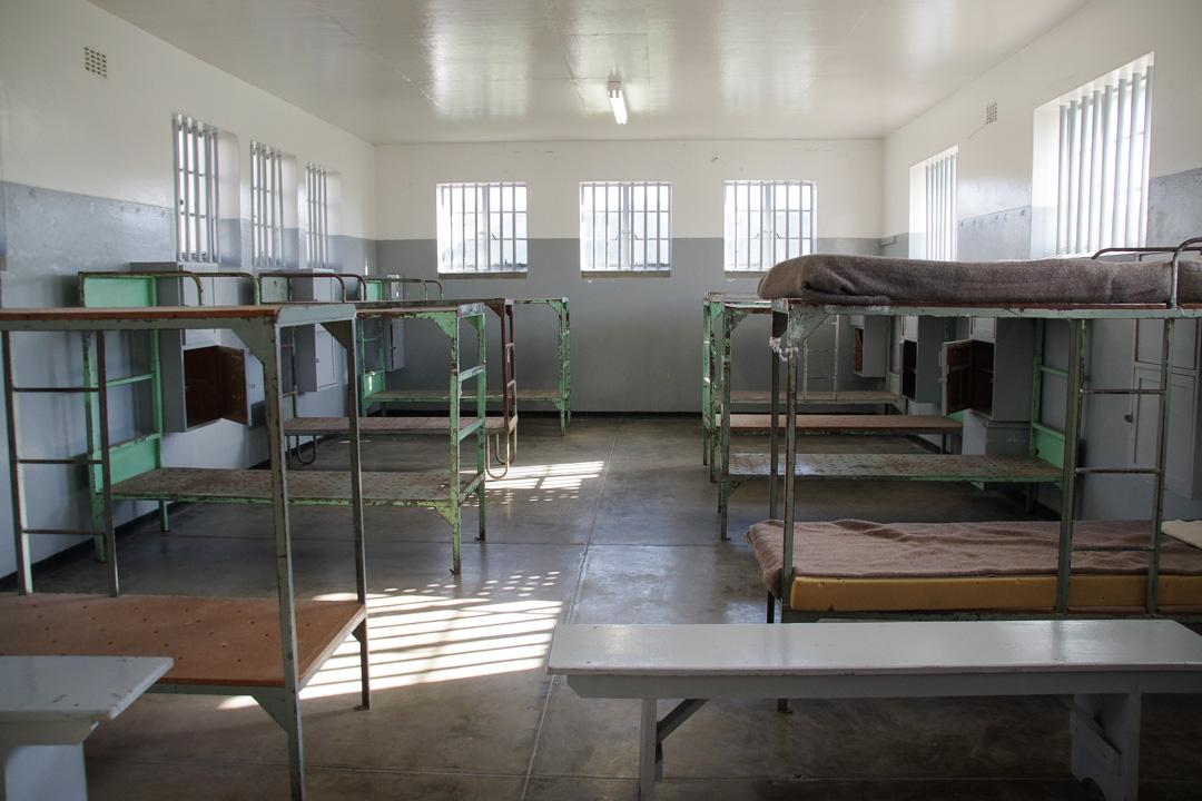dortoir de la prison de haute sécurité de Robben Island