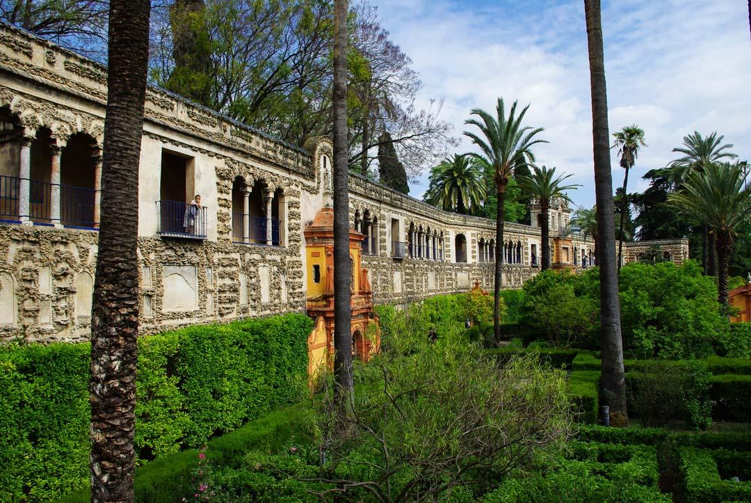 Jardin de l'Alcazar - Séville