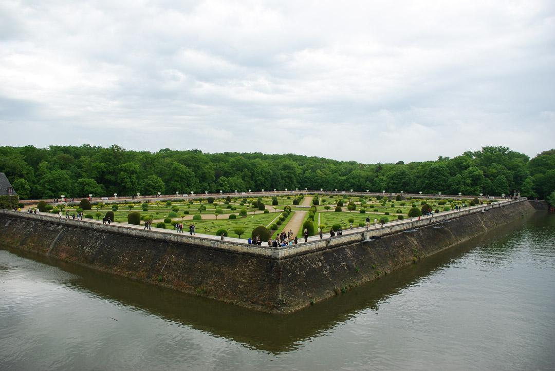 jardin du chateau de Chenonceau