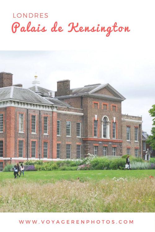 Visiter la résidence royale de Kensington Palace à Londres