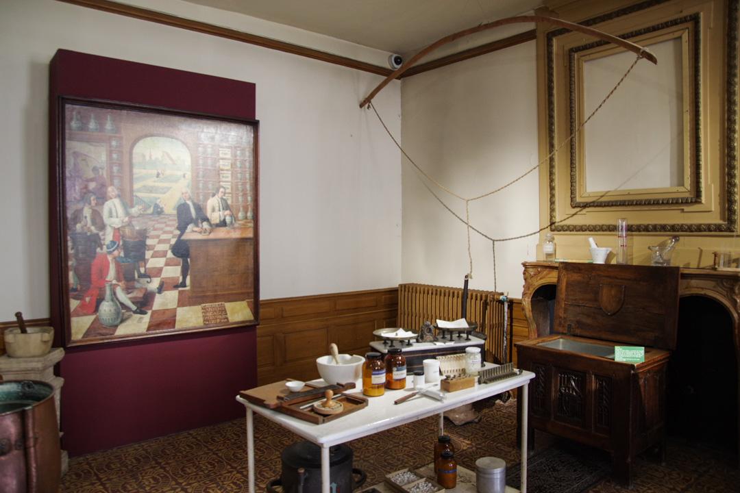 la laboratoire des hospices de Beaune