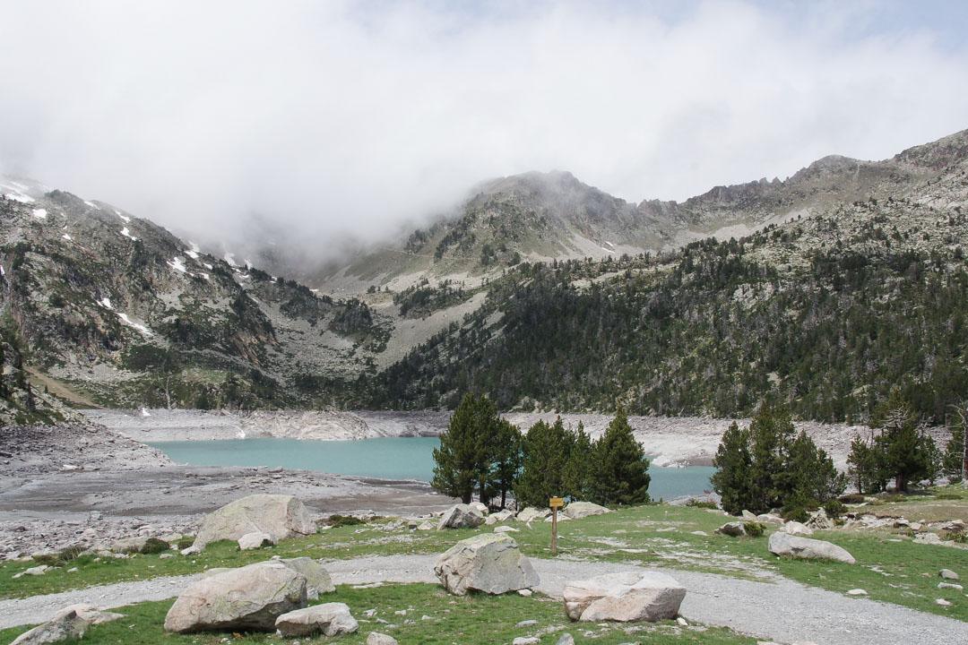 Lac d'Aubert dans les Pyrénées