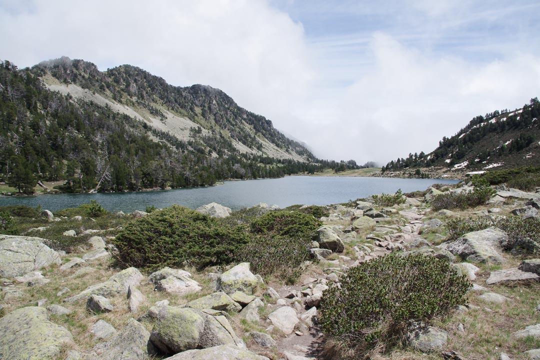 Lac d'Aumar - Réserve de Néouvielle dans les Pyrénées