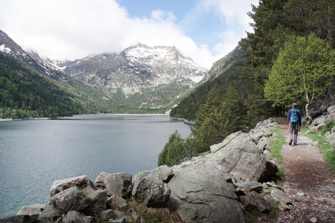 Lac d'Oredon dans les Pyrénées