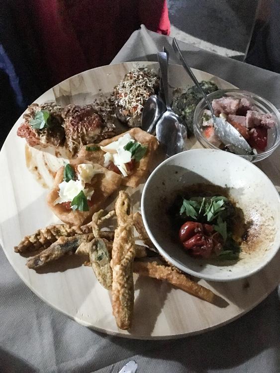 Assiette d'antipasti - Osteria 1877 - Nicolosi