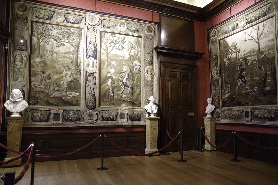 Tapisserie - Appartements du Roi - Kensington Palace