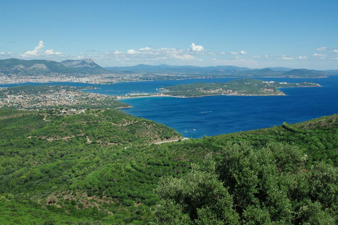 Panorama sur la Rade de Toulon