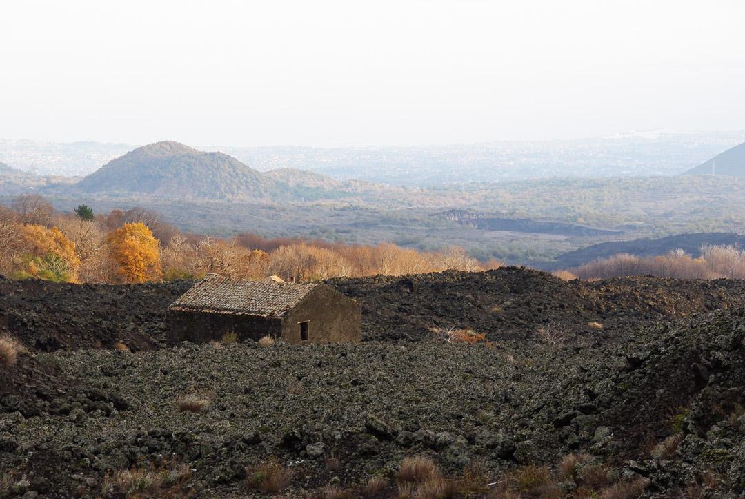 Paysage des petits crateres - Etna