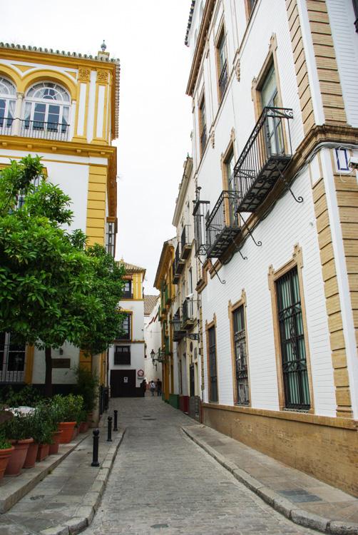 Quartier de Santa Cruz - Séville