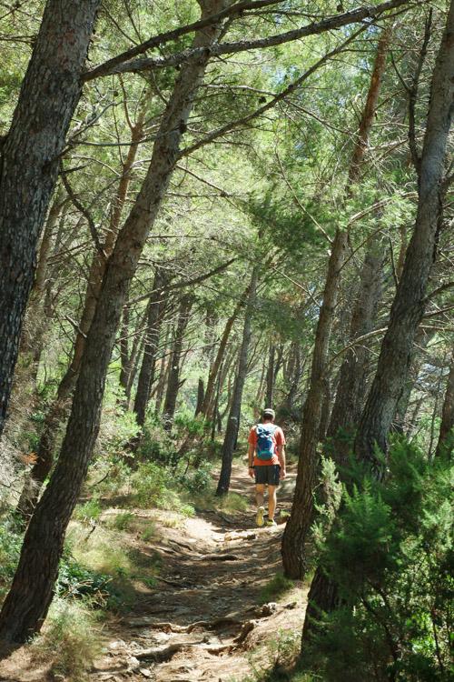 Randonnée au site du Mont Salva