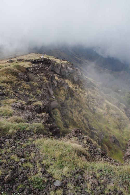 Randonnée sur les flancs de l'Etna