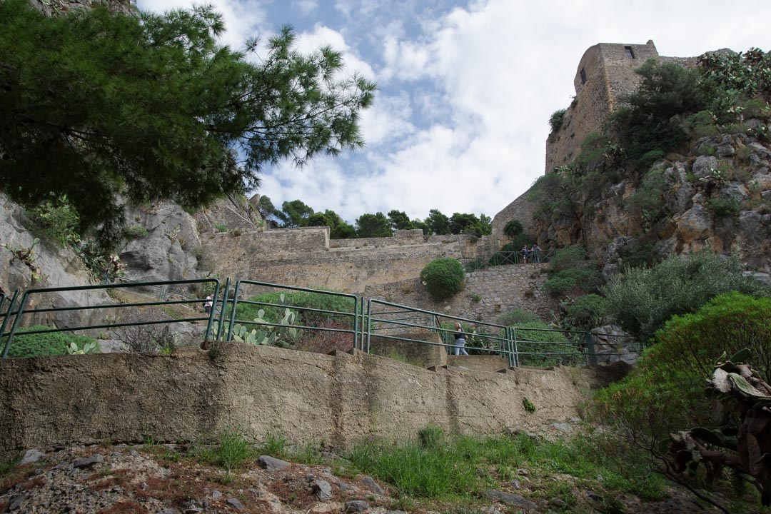Ascension du rocher de Cefalu