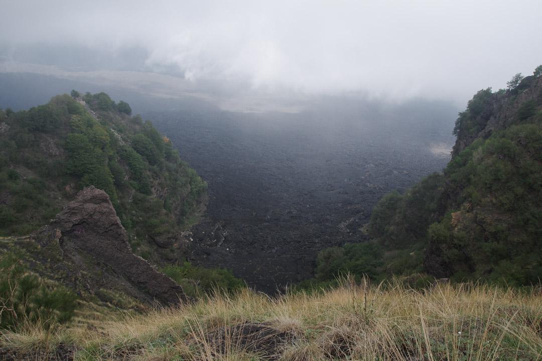 Coulée de lave de la Valle del Bove
