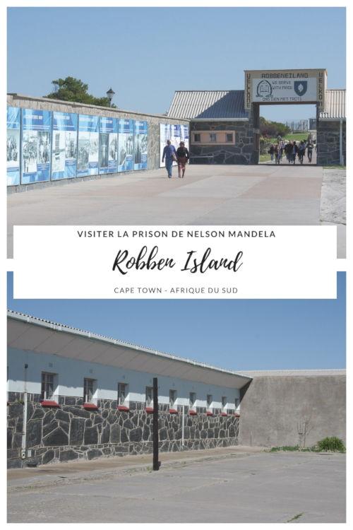 Visiter l'Ile de Robben Island et la prison où fut emprisonner Nelson Mandela - Cape Town - Afrique du Sud