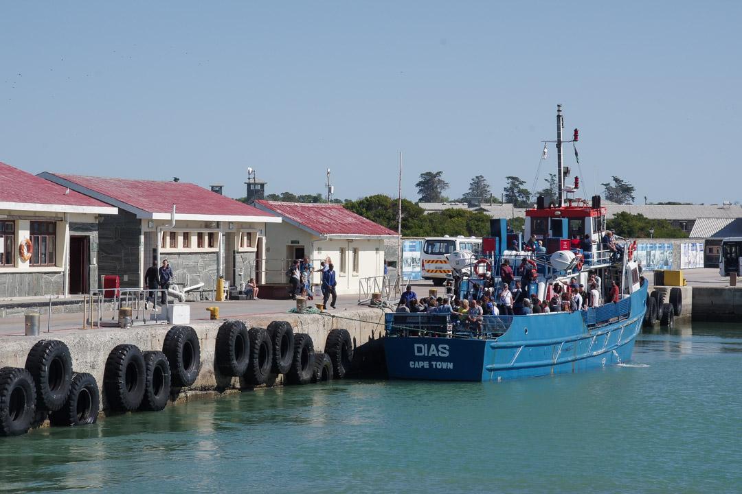Débarcadère de Robben Island