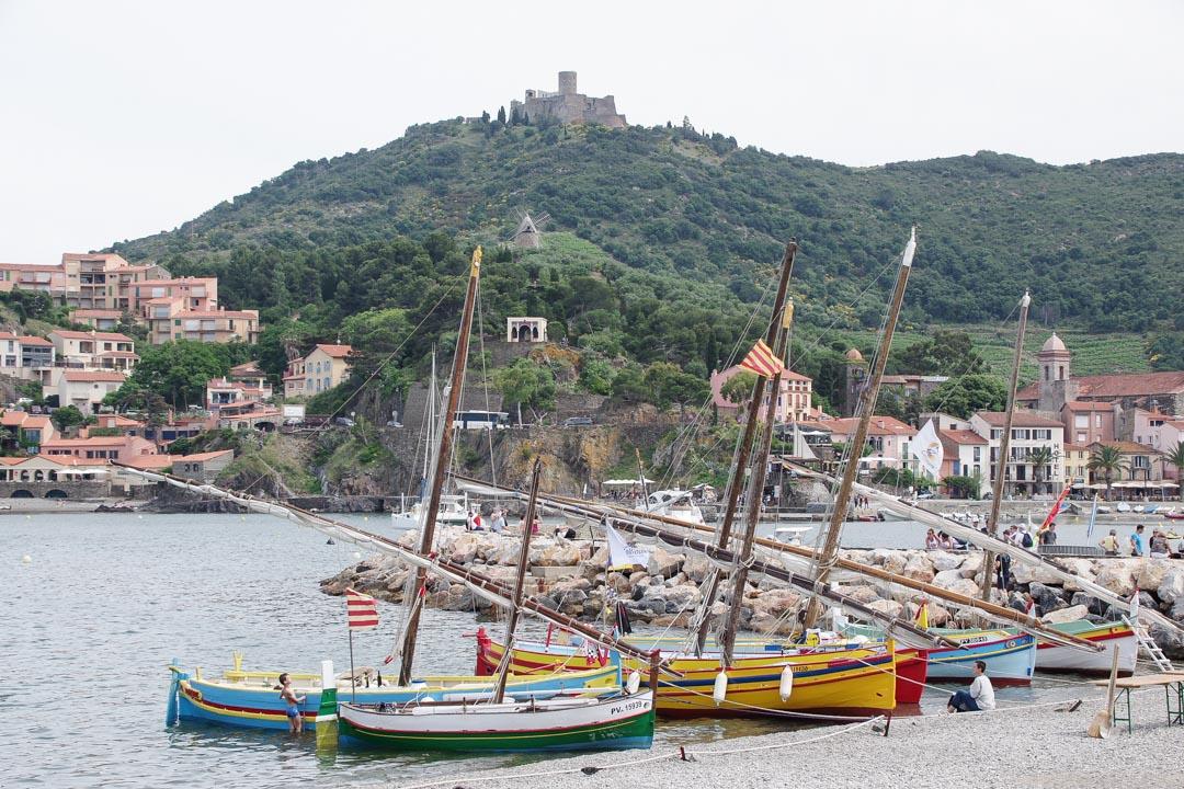 Barques colorées de Collioure