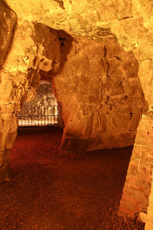 Visite des Boves, les carrières souterraines d'Arras