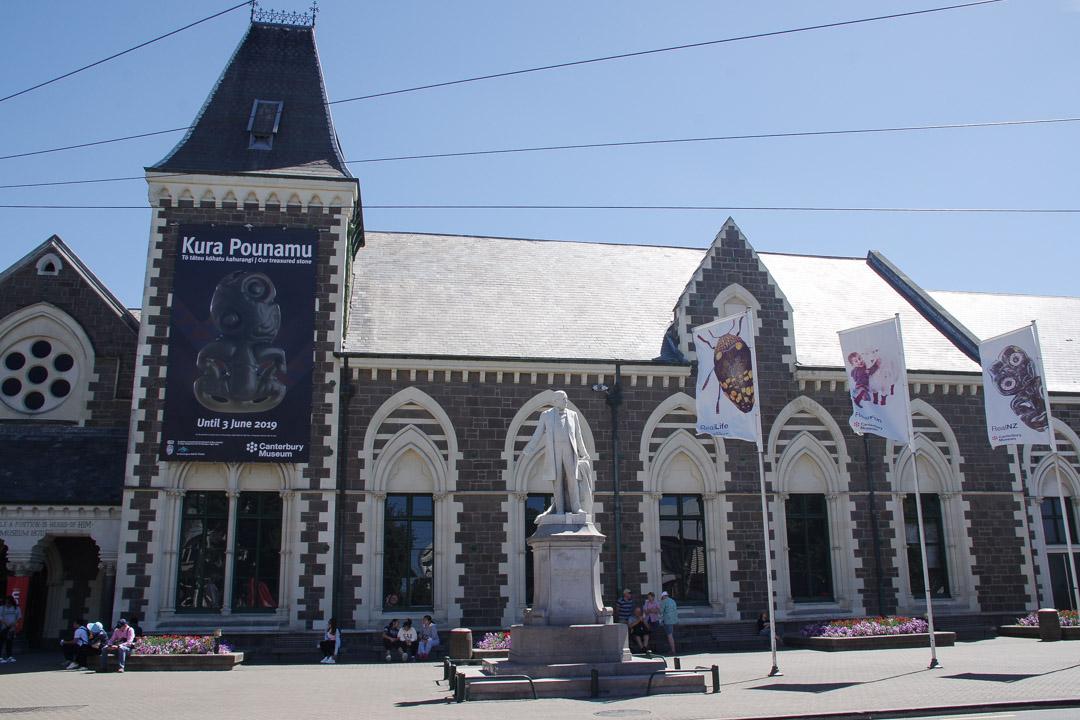 Canterbury Museum à Christchurch