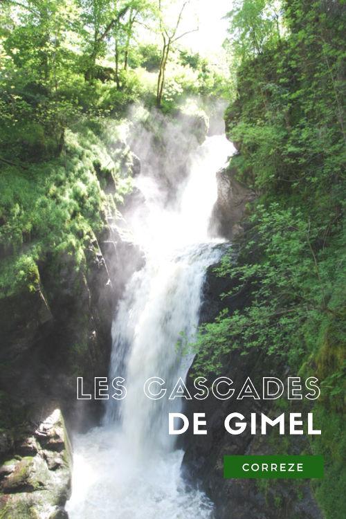 Balade aux Cascades de Gimel en Corrèze