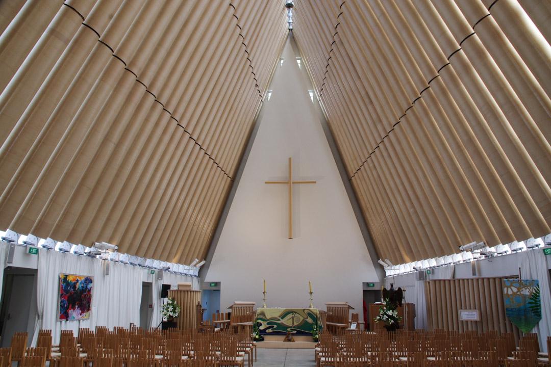 Cathedrale provisoire de Christchurch