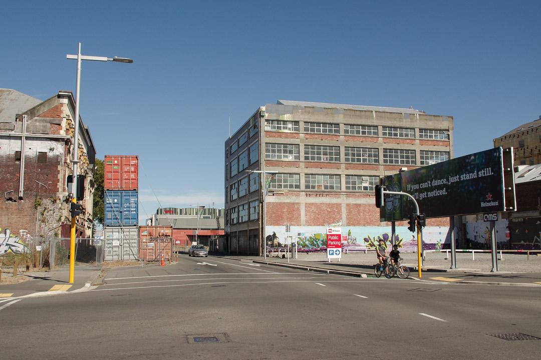 centre ville de Christchurch