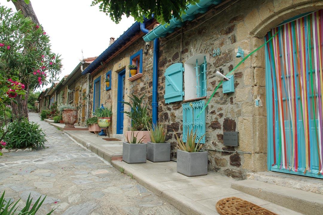 Les maisons colorées de Collioure