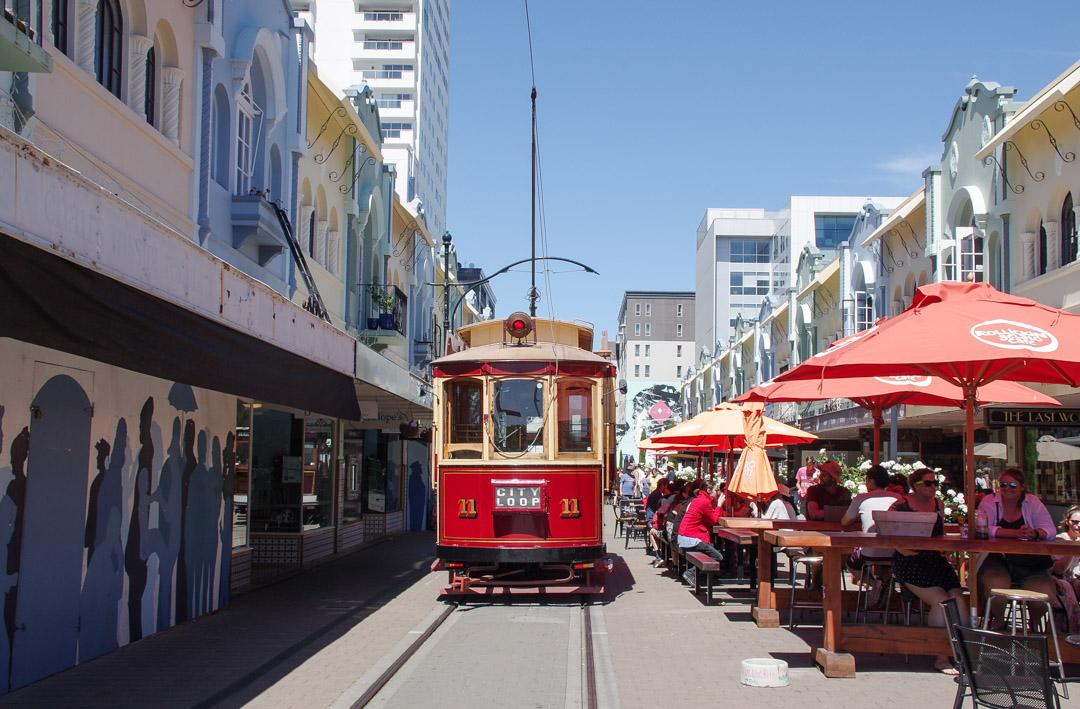 New Regent Street : la plus jolie rue de Nouvelle-Zélande