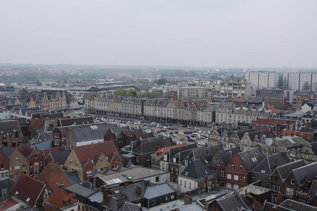 Panorama depuis le Beffroi d'Arras