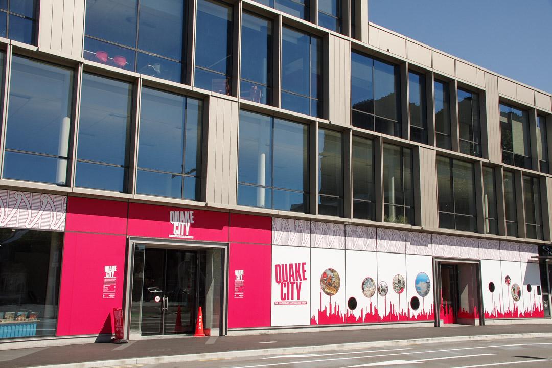 Musée Quake City à Christchurch