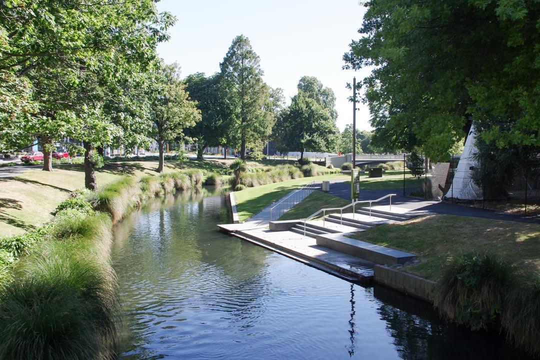 Riviere Avon à Christchurch