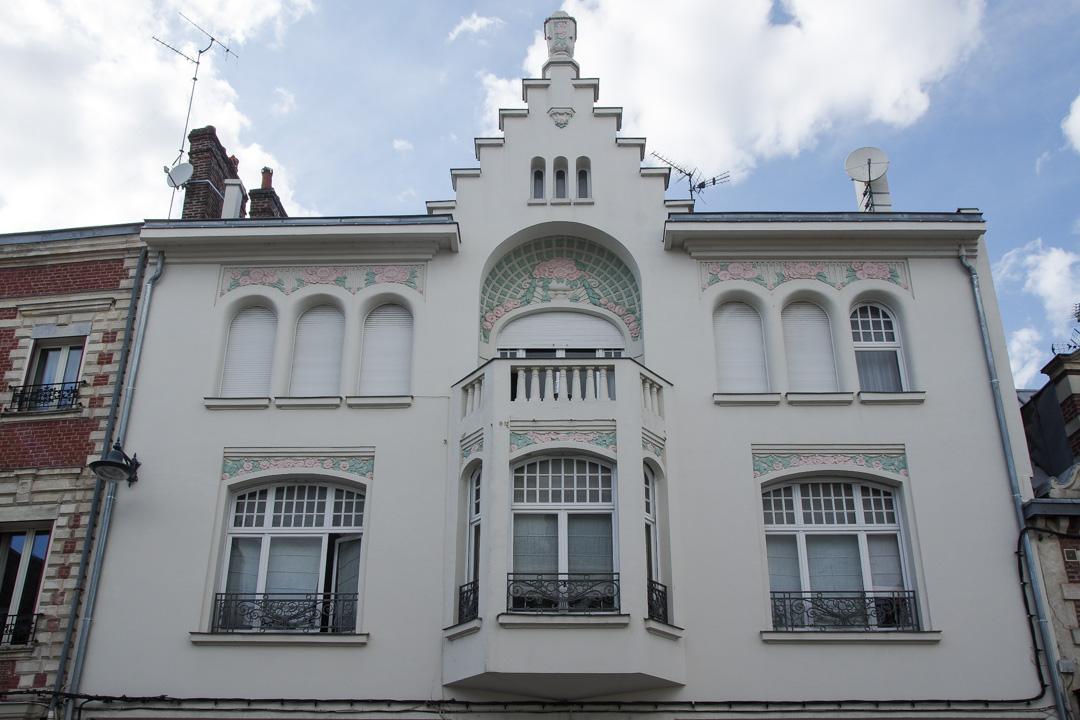 Maison Art Déco dans le centre de Saint-Quentin
