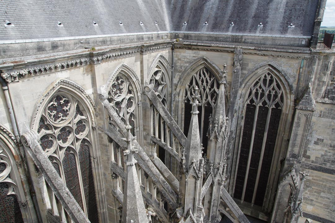 Transept de la Basilique de Saint-Quentin