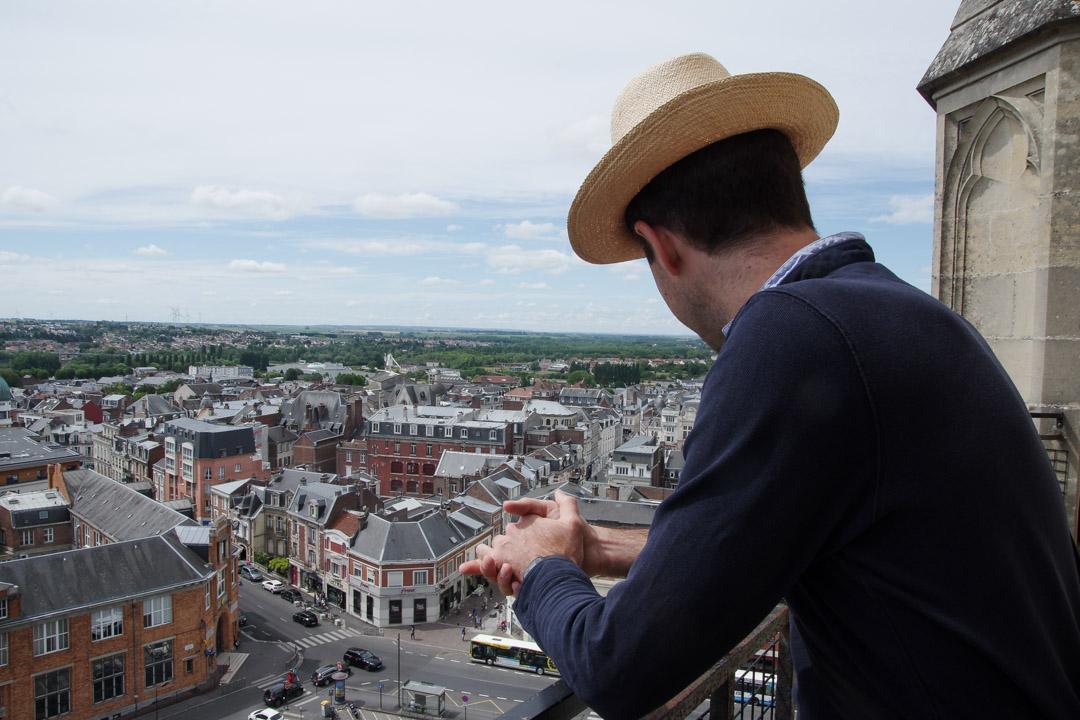 Visite des hauteurs de la basilique de Saint-Quentin