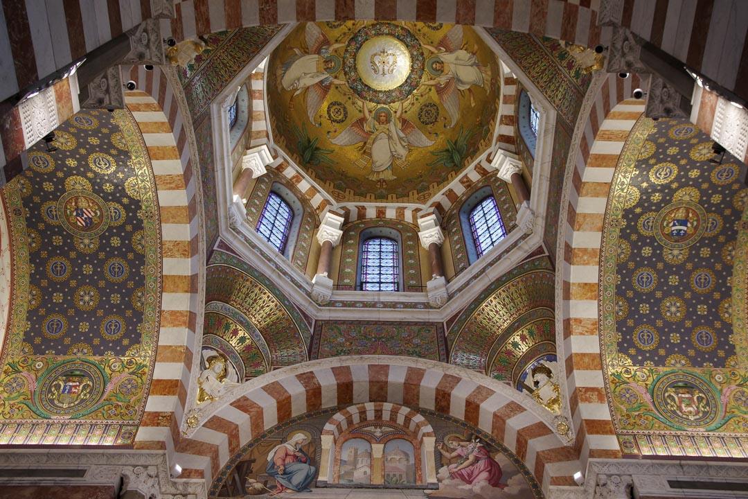 Intérieur de Notre Dame de La Garde