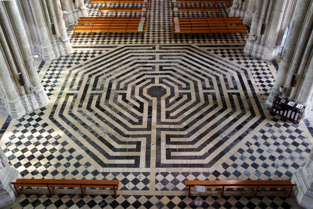 le Labyrinthe de la Basilique de Saint-Quentin