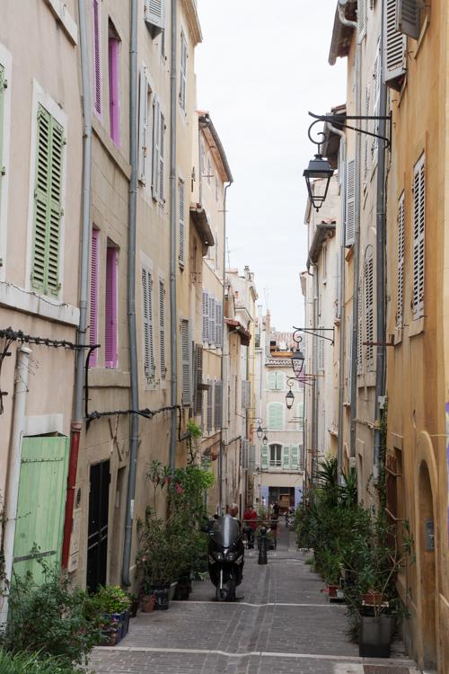 Le Quartier du Panier à Marseille